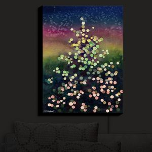 Nightlight Sconce Canvas Light | Anne Gifford - Christmas Tree | Abstract Holiday