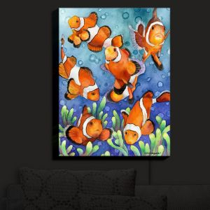 Nightlight Sconce Canvas Light | Anne Gifford - Clown Fish