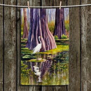 Unique Hanging Tea Towels   Anne Gifford - Down in Swamplands