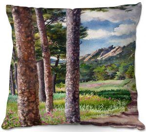 Decorative Outdoor Patio Pillow Cushion   Anne Gifford - Follow Me