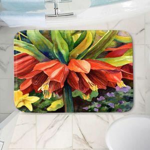 Decorative Bathroom Mats | Anne Gifford - Fritillaria