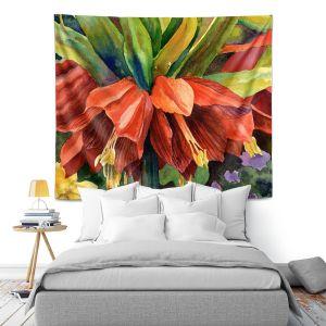 Artistic Wall Tapestry | Anne Gifford Fritillaria