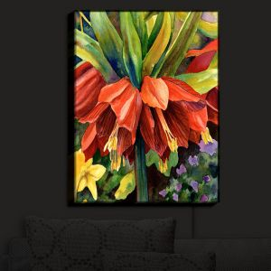 Nightlight Sconce Canvas Light | Anne Gifford's Fritillaria