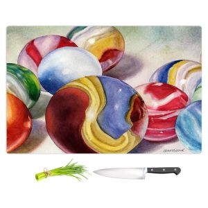 Artistic Kitchen Bar Cutting Boards | Anne Gifford - Moms Marble Shooter | Kids Toys Still Life