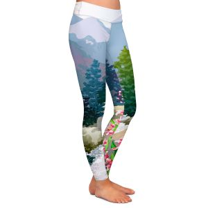Casual Comfortable Leggings | Anne Gifford Mountain Stream