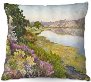 Decorative Outdoor Patio Pillow Cushion | Anne Gifford - Oregon Trail