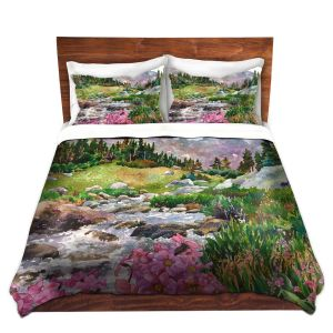 Artistic Duvet Covers and Shams Bedding | Anne Gifford - Parrys Primrose