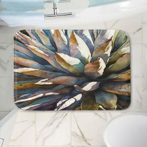 Decorative Bathroom Mats | Anne Gifford - Sunstruck Yucca Plant