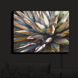 Nightlight Sconce Canvas Light | Anne Gifford - Sunstruck Yucca Plant
