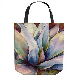Unique Shoulder Bag Tote Bags | Anne Gifford - Tritone Yucca | Leaves Plants Desert