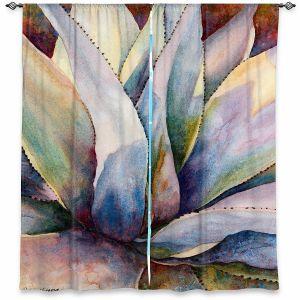 Decorative Window Treatments | Anne Gifford - Tritone Yucca | Leaves Plants Desert