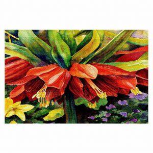 Decorative Floor Coverings   Anne Gifford Fritillaria