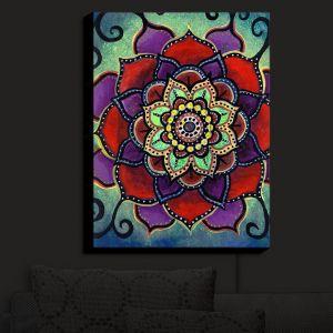 Nightlight Sconce Canvas Light | Anne Marie Cheung - Lotus Mandala 2