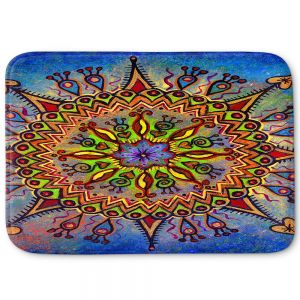 Decorative Bathroom Mats | Ann Marie Cheung - Mandala 1 | Pattern star spiritual