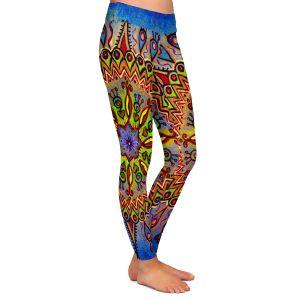Casual Comfortable Leggings | Ann Marie Cheung - Mandala 1 | Pattern star spiritual