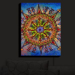 Nightlight Sconce Canvas Light | Anne Marie Cheung - Mandala 1
