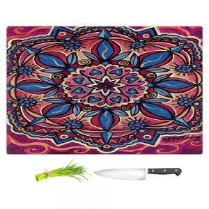 Artistic Kitchen Bar Cutting Boards   Ann Marie Cheung - Mandala Love   Pattern flower spiritual