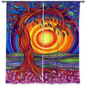 Decorative Window Treatments | Ann Marie Cheung - Tree of Life | Nature pattern