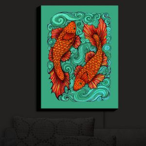 Nightlight Sconce Canvas Light | Anne Marie Cheung - Two Fish