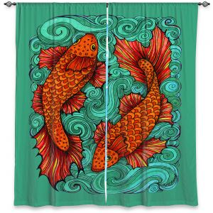 Decorative Window Treatments   Ann Marie Cheung - Two Fish   water nature river ocean