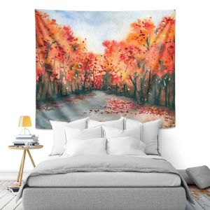 Artistic Wall Tapestry | Brazen Design Studio - Autumn Journey
