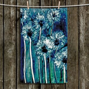 Unique Bathroom Towels | Brazen Design Studio - Dandelions