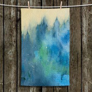 Unique Bathroom Towels | Brazen Design Studio - Enchanted Forest | Trees Nature Forest