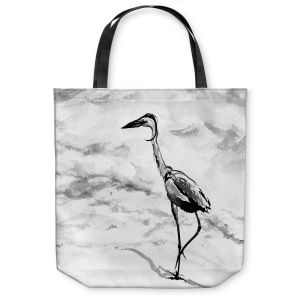 Unique Shoulder Bag Tote Bags | Brazen Design Studio - Heron