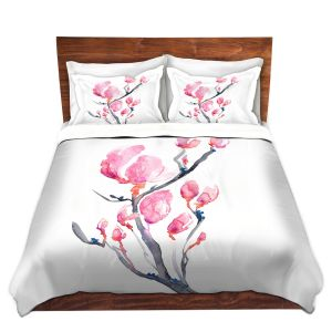 Decorative Duvet Covers from DiaNoche by Brazen Design Studio - Japanese Magnolia