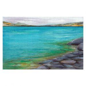 Decorative Floor Covering Mats | Brazen Design Studio - Kalamalka Lake | water nature shore