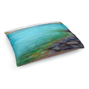 Decorative Dog Pet Beds | Brazen Design Studio - Kalamalka Lake | water nature shore