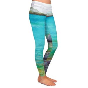 Casual Comfortable Leggings | Brazen Design Studio - Kalamalka Lake | water nature shore