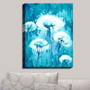 Decorative Canvas Wall Art | Brazen Design Studio - Luminous Jelly Fish
