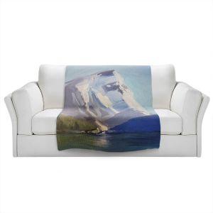 Artistic Sherpa Pile Blankets | Brazen Design Studio - Natures Grandeur | Nature Mountains Lakes
