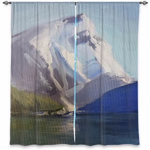 Decorative Window Treatments | Brazen Design Studio - Natures Grandeur | Nature Mountains Lakes