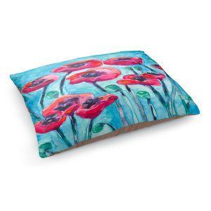 Decorative Dog Pet Beds | Brazen Design Studio's Poppy Sky
