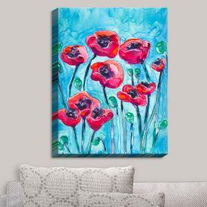 Decorative Canvas Wall Art | Brazen Design Studio - Poppy Sky