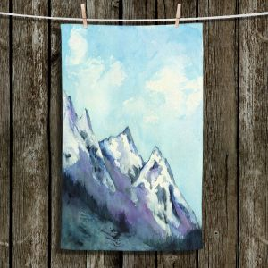 Unique Hanging Tea Towels | Brazen Design Studio - Rocky Mountains | landscape nature