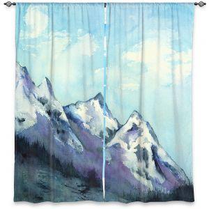 Decorative Window Treatments | Brazen Design Studio - Rocky Mountains | landscape nature