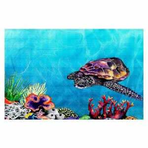 Decorative Floor Coverings | Brazen Design Studio Sea Turtle
