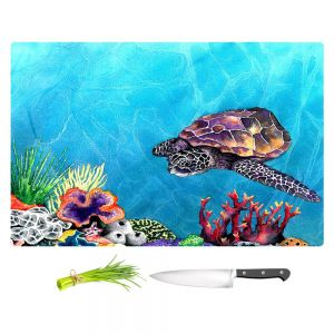 Artistic Kitchen Bar Cutting Boards | Brazen Design Studio - Sea Turtle