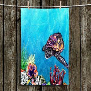 Unique Bathroom Towels | Brazen Design Studio - Sea Turtle