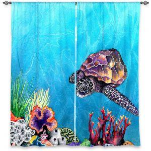 Decorative Window Treatments | Brazen Design Studio Sea Turtle