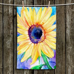 Unique Bathroom Towels | Brazen Design Studio - Sunflower