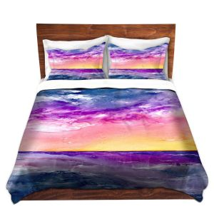 Artistic Duvet Covers and Shams Bedding | Brazen Design Studio - Tormenta Waves