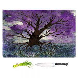 Artistic Kitchen Bar Cutting Boards | Brazen Design Studio - Tree Of Life
