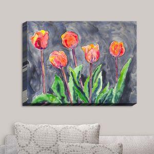 Decorative Canvas Wall Art | Brazen Design Studio - Tulips