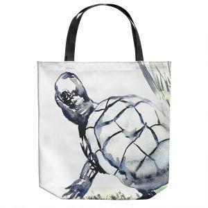 Unique Shoulder Bag Tote Bags   Brazen Design Studio - Turtle   Animals Reptiles Nature
