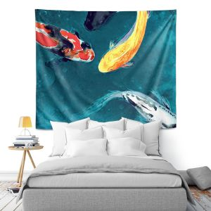 Artistic Wall Tapestry | Brazen Design Studio Water Ballet