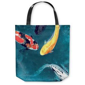 Unique Shoulder Bag Tote Bags | Brazen Design Studio Water Ballet